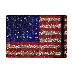 American Flag Mosaic Apple Ipad Mini 2 Flip Case