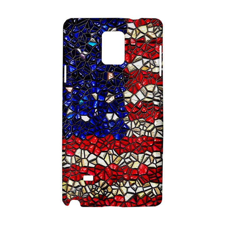 American Flag Mosaic Samsung Galaxy Note 4 Hardshell Case