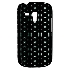 Futuristic Dark Hexagonal Grid Pattern Design Samsung Galaxy S3 Mini I8190 Hardshell Case