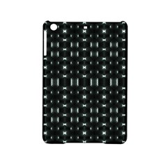 Futuristic Dark Hexagonal Grid Pattern Design Apple iPad Mini 2 Hardshell Case
