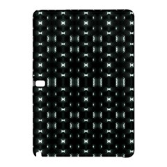 Futuristic Dark Hexagonal Grid Pattern Design Samsung Galaxy Tab Pro 12 2 Hardshell Case