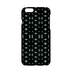 Futuristic Dark Hexagonal Grid Pattern Design Apple iPhone 6 Hardshell Case