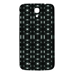 Futuristic Dark Hexagonal Grid Pattern Design Samsung Galaxy Mega I9200 Hardshell Back Case