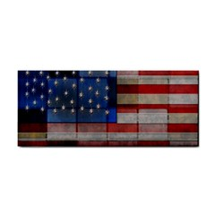 American Flag Quilt Hand Towel