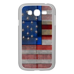 American Flag Quilt Samsung Galaxy Grand DUOS I9082 Case (White)