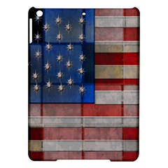 American Flag Quilt Apple iPad Air Hardshell Case