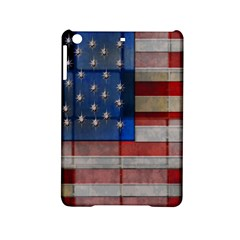 American Flag Quilt Apple iPad Mini 2 Hardshell Case