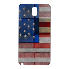 American Flag Quilt Samsung Galaxy Note 3 N9005 Hardshell Back Case