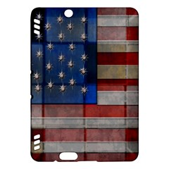 American Flag Quilt Kindle Fire HDX Hardshell Case
