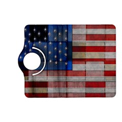 American Flag Quilt Kindle Fire HD (2013) Flip 360 Case