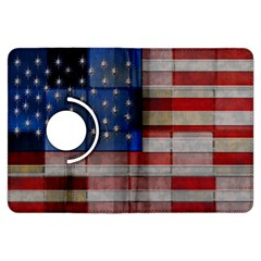 American Flag Quilt Kindle Fire HDX Flip 360 Case