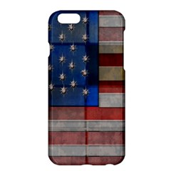 American Flag Quilt Apple iPhone 6 Plus Hardshell Case