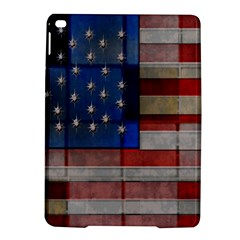 American Flag Quilt Apple Ipad Air 2 Hardshell Case