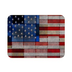 American Flag Quilt Double Sided Flano Blanket (Mini)