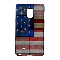 American Flag Quilt Samsung Galaxy Note Edge Hardshell Case