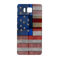 American Flag Quilt Samsung Galaxy Alpha Hardshell Back Case