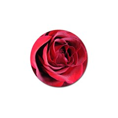 An Open Rose Golf Ball Marker 10 Pack