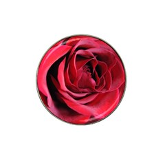 An Open Rose Golf Ball Marker 10 Pack (for Hat Clip)