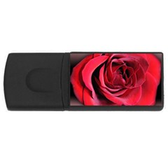 An Open Rose 4gb Usb Flash Drive (rectangle)