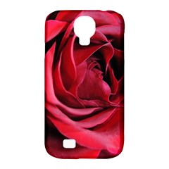 An Open Rose Samsung Galaxy S4 Classic Hardshell Case (pc+silicone)
