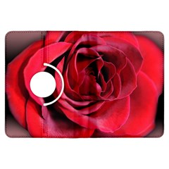 An Open Rose Kindle Fire HDX Flip 360 Case