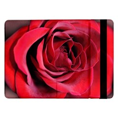 An Open Rose Samsung Galaxy Tab Pro 12 2  Flip Case