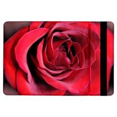 An Open Rose Apple iPad Air Flip Case