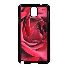 An Open Rose Samsung Galaxy Note 3 Neo Hardshell Case (Black)