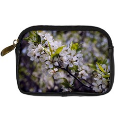 Apple Blossoms Digital Camera Leather Case