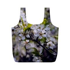 Apple Blossoms Reusable Bag (M)