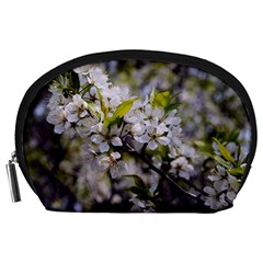 Apple Blossoms Accessory Pouch (large)