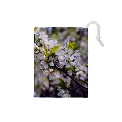 Apple Blossoms Drawstring Pouch (Small)