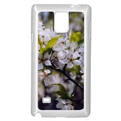 Apple Blossoms Samsung Galaxy Note 4 Case (White)