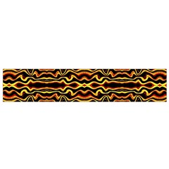 Tribal Art Abstract Pattern  Flano Scarf (Small)