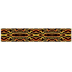 Tribal Art Abstract Pattern  Flano Scarf (Large)