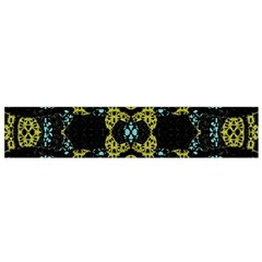 Ornate Dark Pattern Flano Scarf (Small)