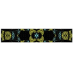 Ornate Dark Pattern Flano Scarf (Large)