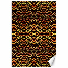 Tribal Art Abstract Pattern Canvas 20  X 30  (unframed)
