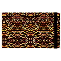 Tribal Art Abstract Pattern Apple Ipad 2 Flip Case