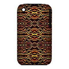 Tribal Art Abstract Pattern Apple Iphone 3g/3gs Hardshell Case (pc+silicone)