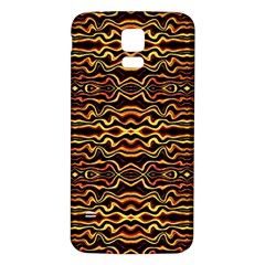 Tribal Art Abstract Pattern Samsung Galaxy S5 Back Case (white)