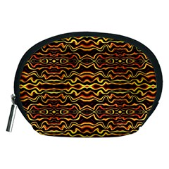 Tribal Art Abstract Pattern Accessory Pouch (Medium)