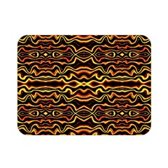 Tribal Art Abstract Pattern Double Sided Flano Blanket (Mini)