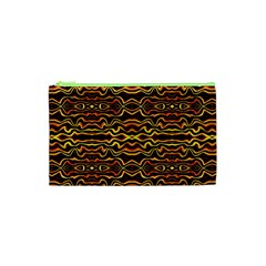 Tribal Art Abstract Pattern Cosmetic Bag (XS)