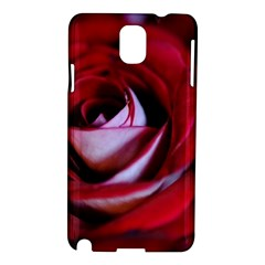 Red Rose Center Samsung Galaxy Note 3 N9005 Hardshell Case