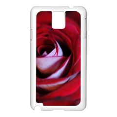 Red Rose Center Samsung Galaxy Note 3 N9005 Case (white)