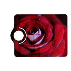 Red Rose Center Kindle Fire Hd (2013) Flip 360 Case