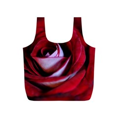 Red Rose Center Reusable Bag (S)