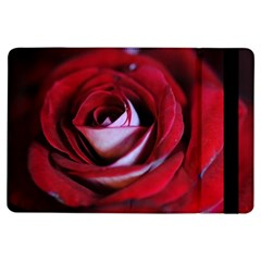 Red Rose Center Apple iPad Air Flip Case