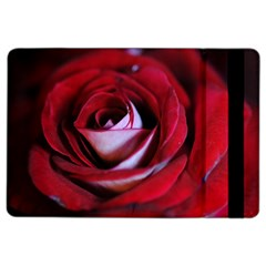 Red Rose Center Apple Ipad Air 2 Flip Case